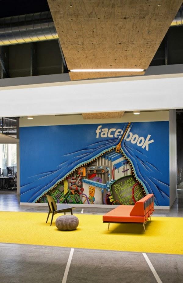 Facebook De Menlo Park Intérieurs Campus