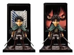 ATTACK ON TITANS BUDDIES EREN YEAGER / LEVI ACKERMAN