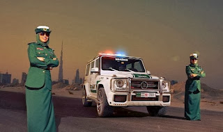 Mercedes Classe G63 AMG polizia Dubai
