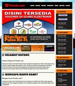 Jual Script Penjual Pulsa Online Best Seller