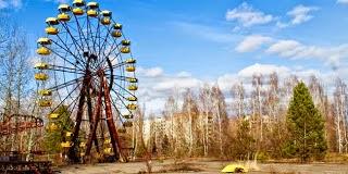 Kota 'Hantu' Prypiat, Ukraina