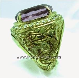 batu permata kecubung ungu-batu mulia-natural-asli-murah-berkualitas