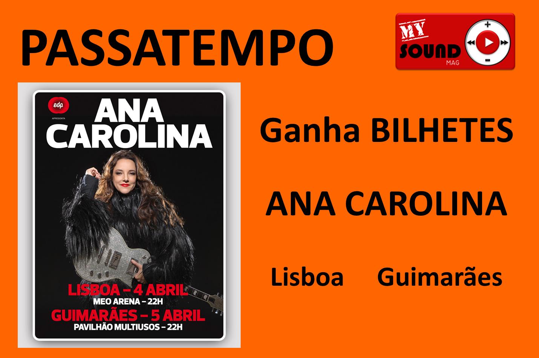Passatempo Ana Carolina