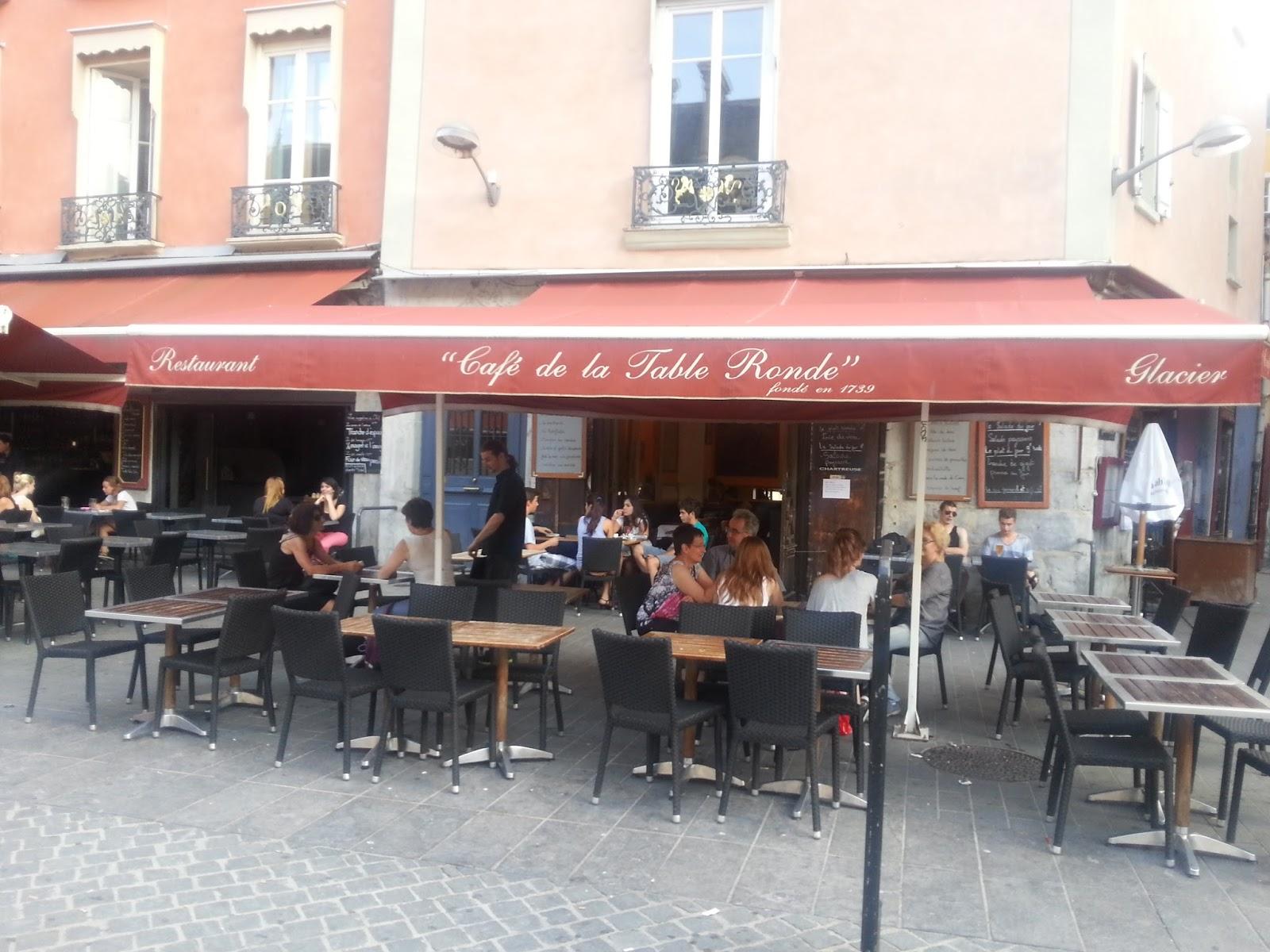 Positive Eating Positive Living Caf De La Table Ronde Grenoble Le Deuxi Me Plus Vieux Caf