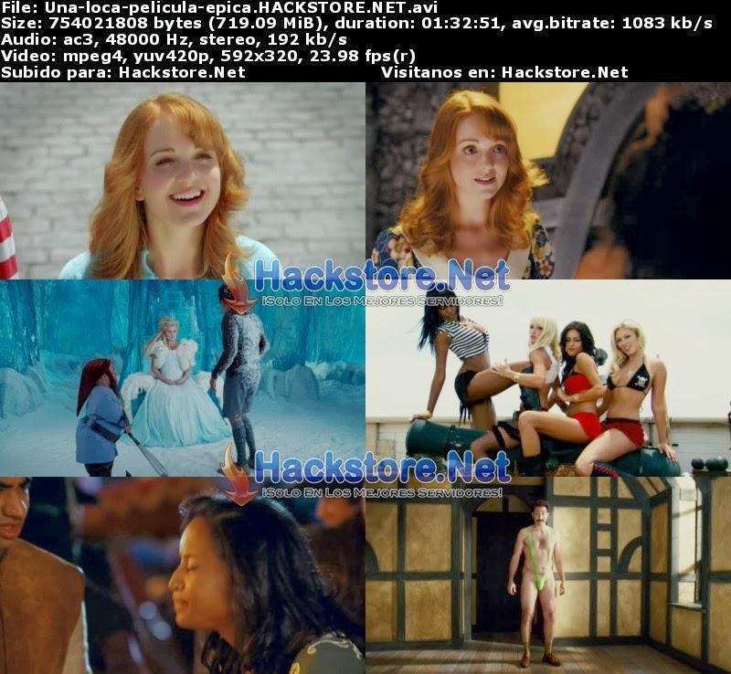 Captura Una Loca Pelicula Epica (2007) DVDRip Latino