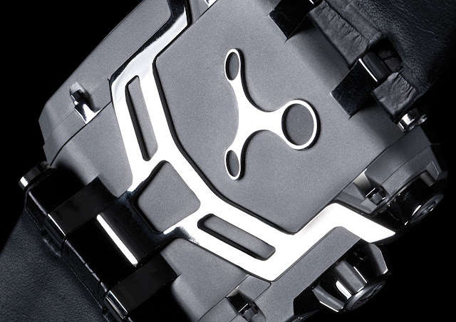Rebellion T-1000 Gotham Watch detail