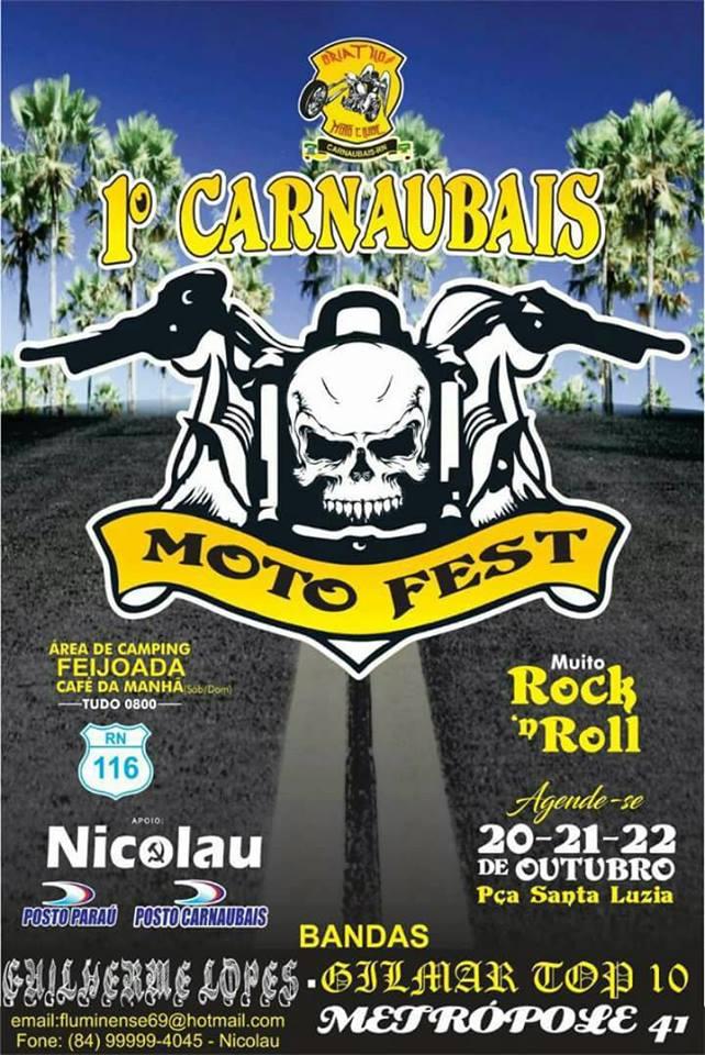 1º MOTO FEST CARNAUBAIS-RN