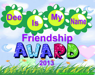 New Award Friendship For Bandar Bloger