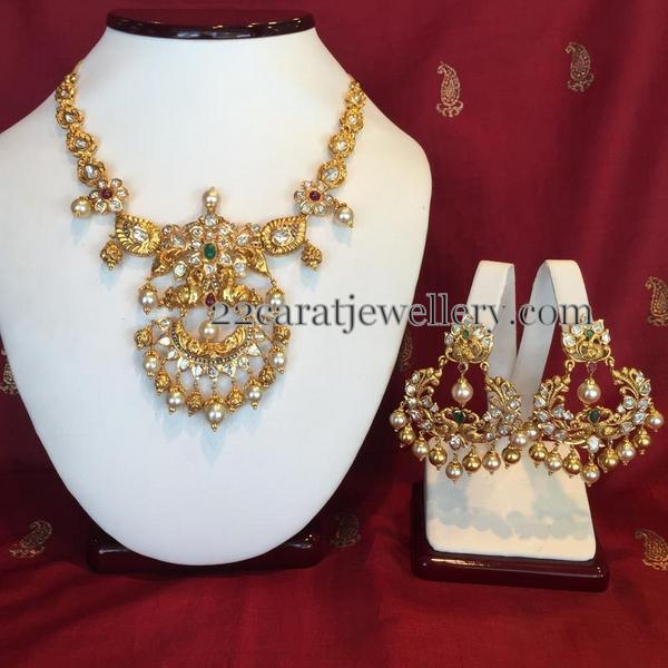 Nice Pachi Necklace by Shree Jewellers