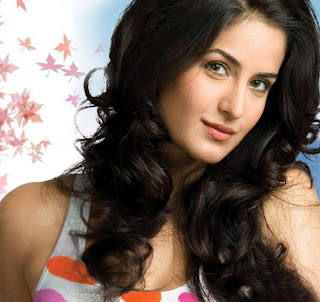 Beauty Hairstyles with Katrina kaif in 2012.