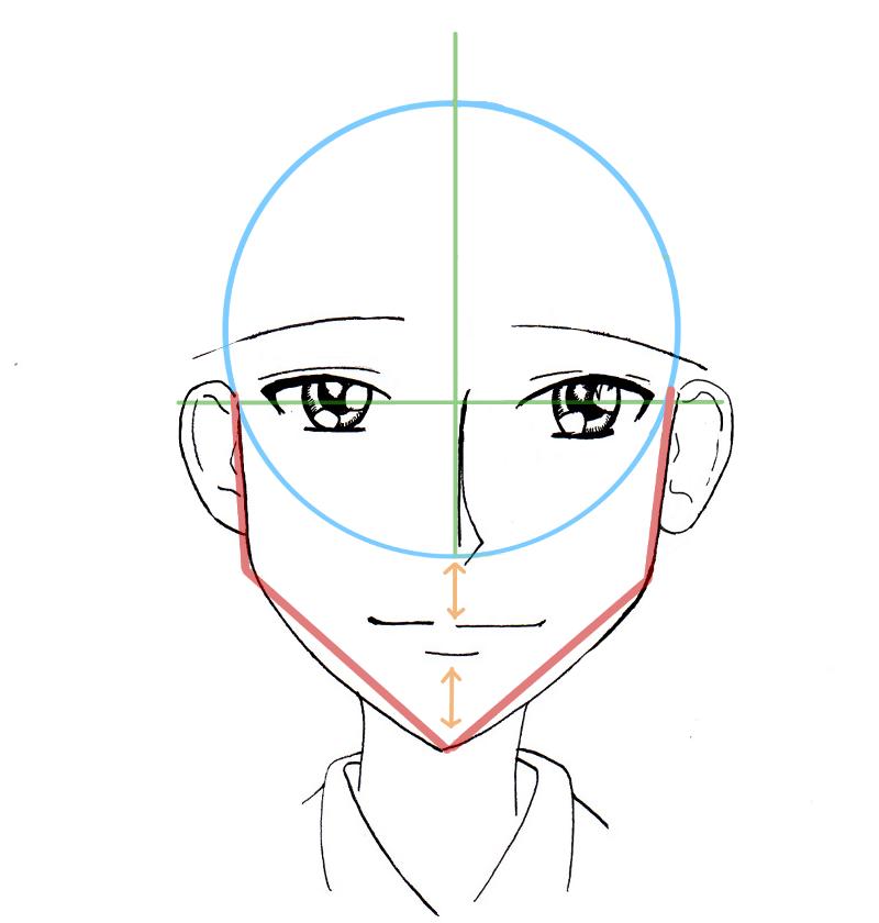 Tutoriel dessin shojo - Dessin manga visage ...