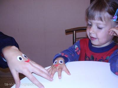 пальчиковая игра осьминожки
