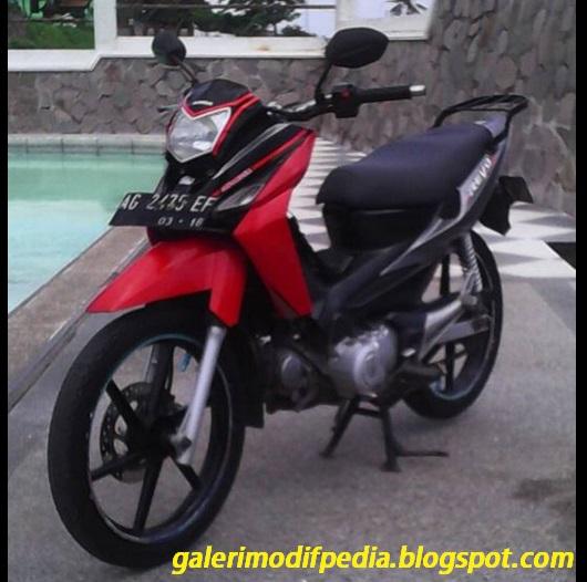 Foto Modifikasi Honda Revo Si Upik Kiriman Moch Sulaiman
