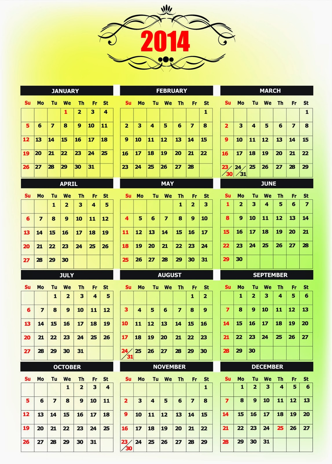 "... for ""Anniversary Calendar Free Printable/page/2"" – Calendar 2015"