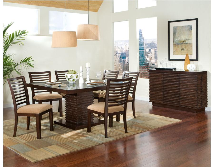 Mi casa mi hogar comedores modernos 2013 for Imagenes de comedores de madera