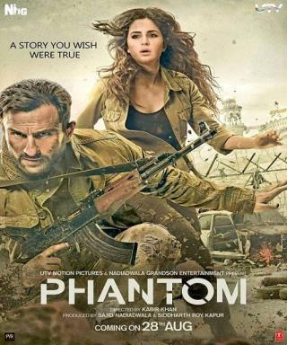 Hindi Action Phntm 2015 DVDcr