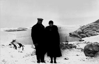 1st woman in Antarctica Caroline Karolina