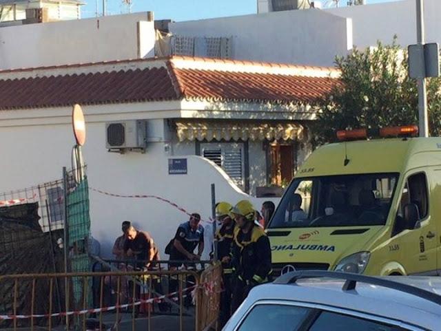 Muere un trabajador de una obra al caer un muro en Arguineguín