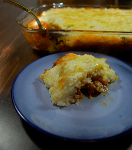 Sarah's Kitchen Adventures: Cheddar Topped Shepherd's Pie