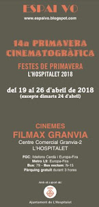 PRIMAVERA CINEMATOGRÀFICA 2018-FESTES DE LA PRIMAVERA L'HOSPITALET