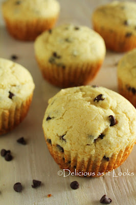 Low-FODMAP Chocolate Chips Muffins