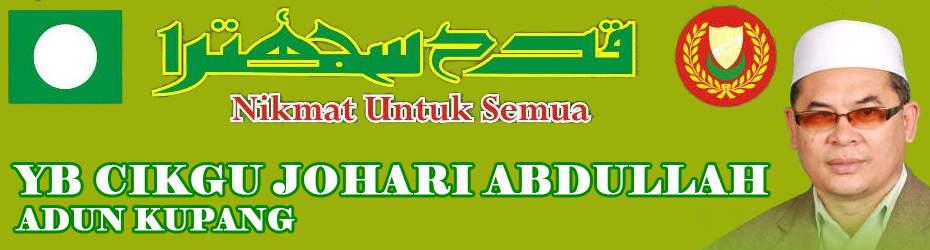 YB Cikgu Johari Adun Kupang, Baling