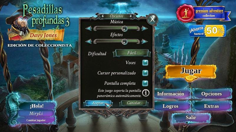 Pesadillas profundas 3: Davy Jones (castellano)