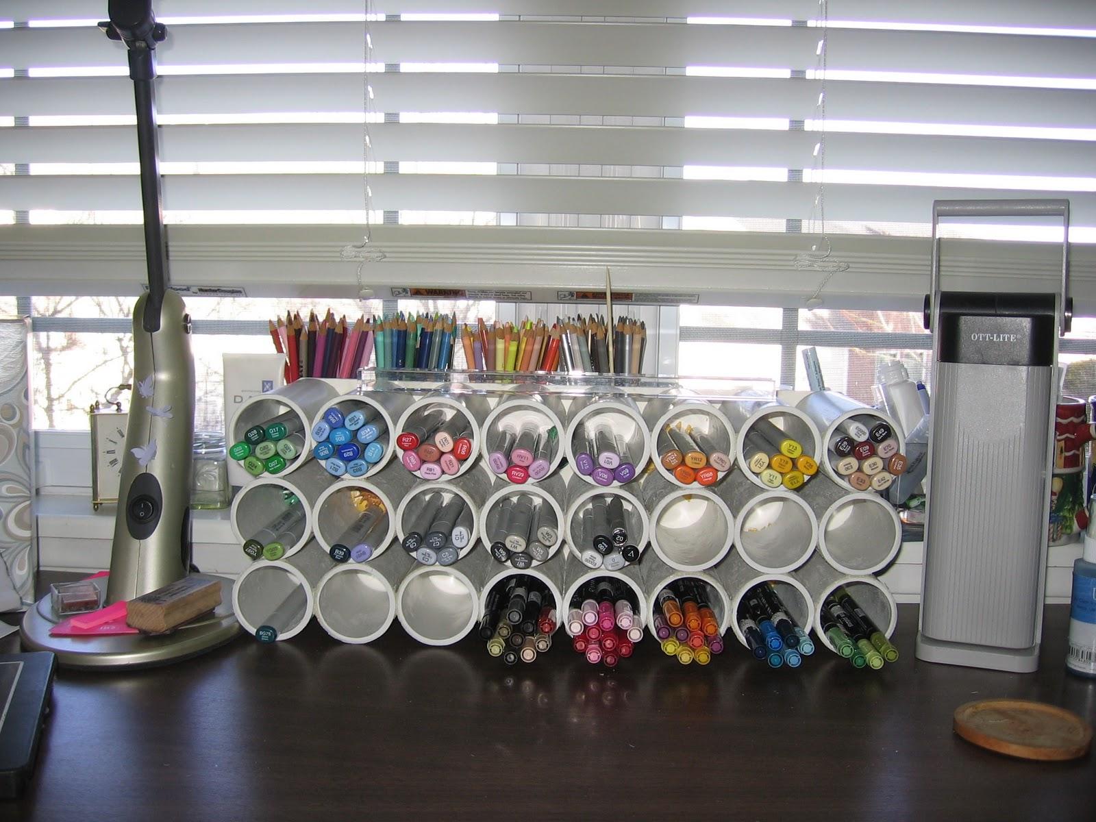Lucky S Creations Copic Marker Holder