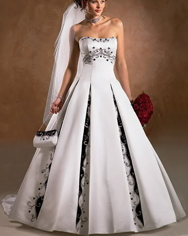 Wedding Themes Wedding Style Wedding Gowns For Black And White Weddings