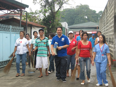 Clean up Operation- Anti Dengue