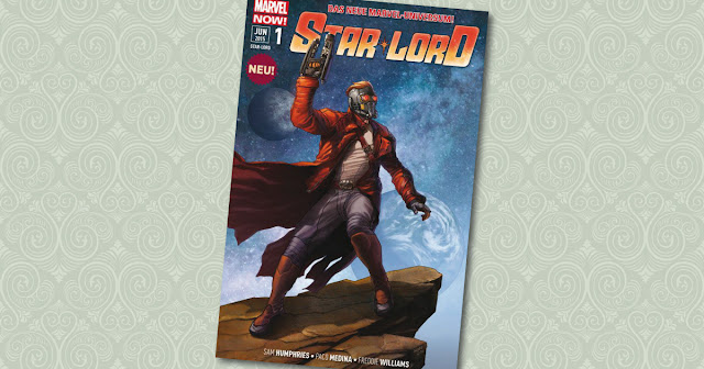 Star Lord 1 Panini Cover