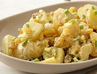 Salada de Batata com Curry (vegana)