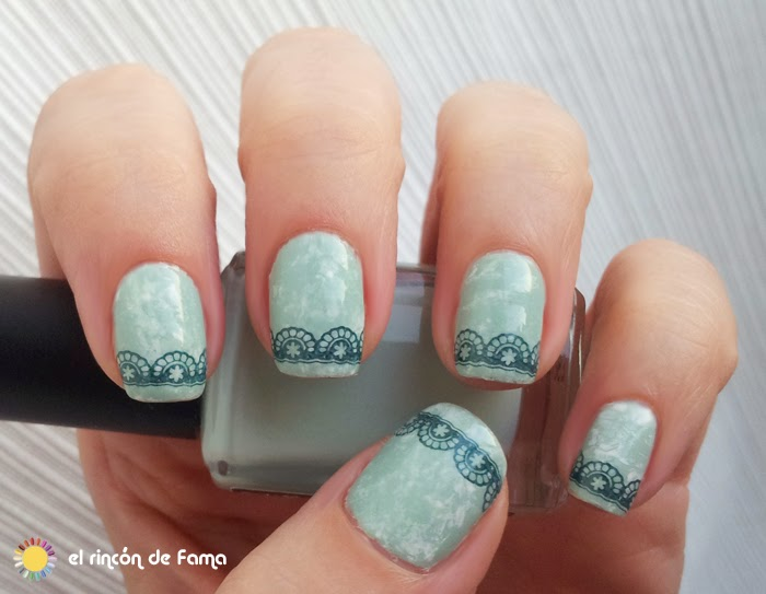 SARAN WRAP_ FRENCH NAILS