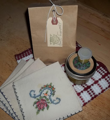 The Blessed Hearth blog giveaway...