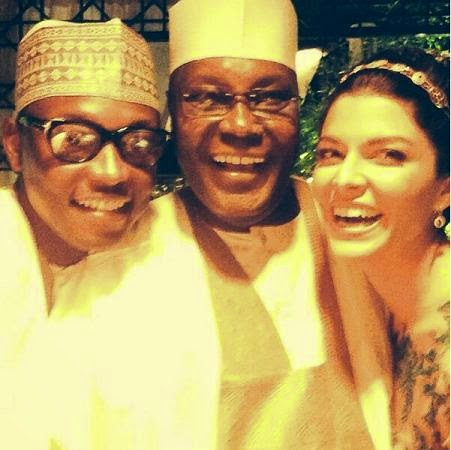 atiku son marries white american lady
