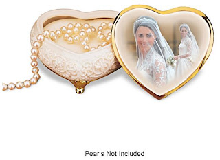 Princess Catherine Kate Middleton Royal Wedding Music Box