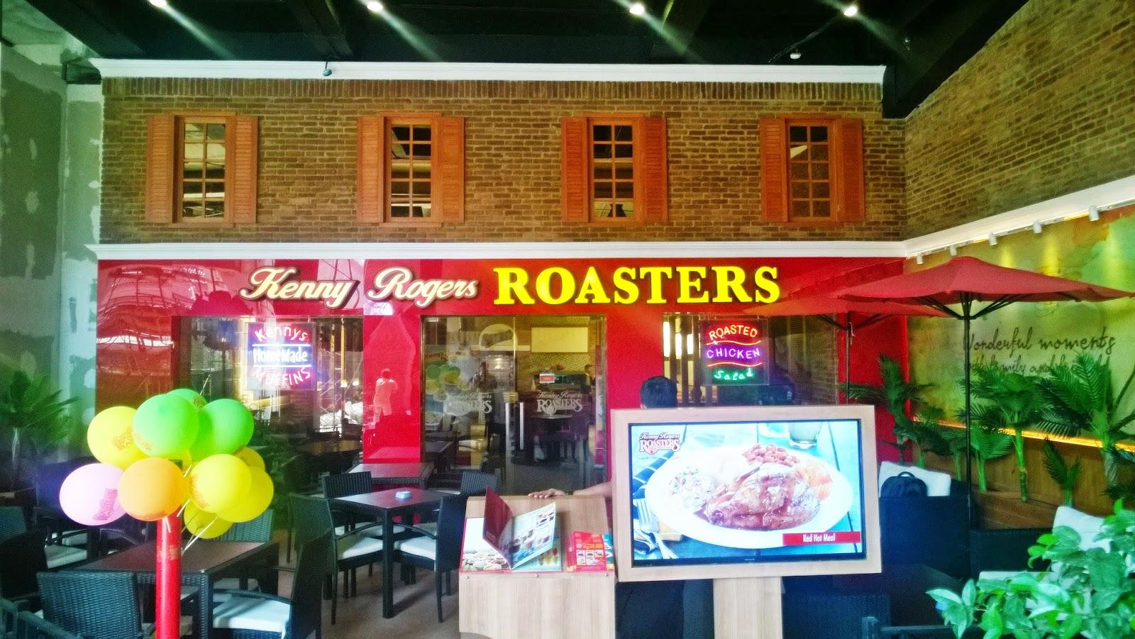 Kenny Rogers ROASTERS: Lezat dan Sehat