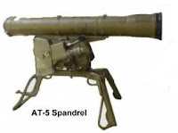 AT-5 (Spandrel) / 9M113 (Contest) anti tank