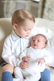 PRINCE GEORGE DOTES ON LITTLE SISTER, PRINCESS CED.
