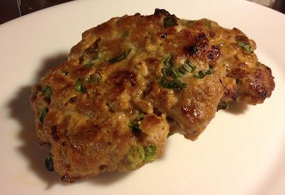 oriental pork burger