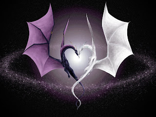 Dragon Lovers Love Wallpaper