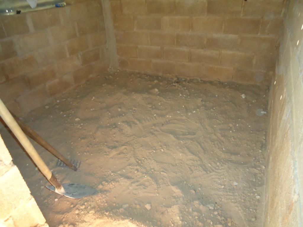 El plan social de cambio de piso de tierra por cemento for Nivelar piso de tierra