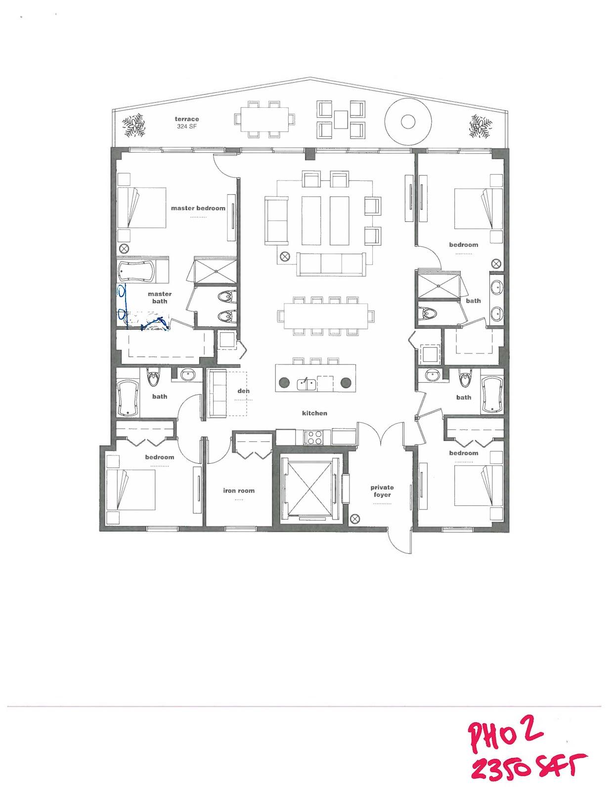 Miami riches real estate blog icon bay preliminary for Bay house plans