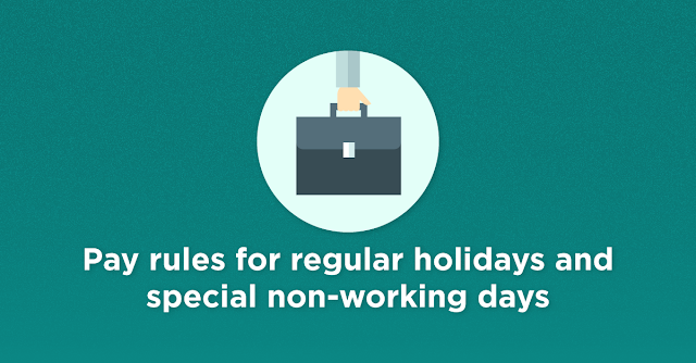 pay rules for APEC holidays in NCR