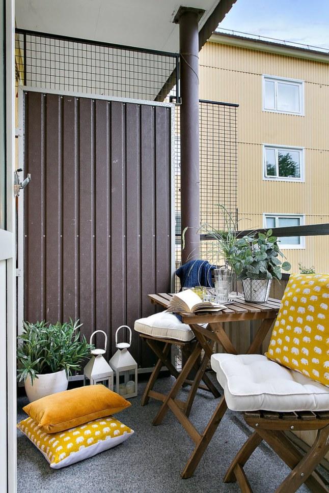 home garden 25 inspirations pour am nager une petite surface en ville. Black Bedroom Furniture Sets. Home Design Ideas