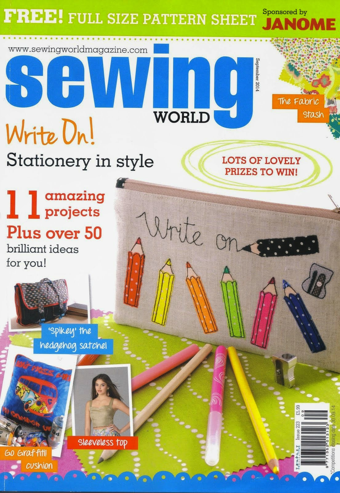 Sewing World September 2014