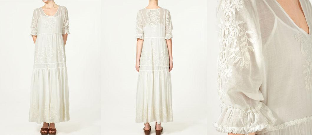 Mariages Rétro: Robe de mariée : robes bohèmes 70s chez Zara