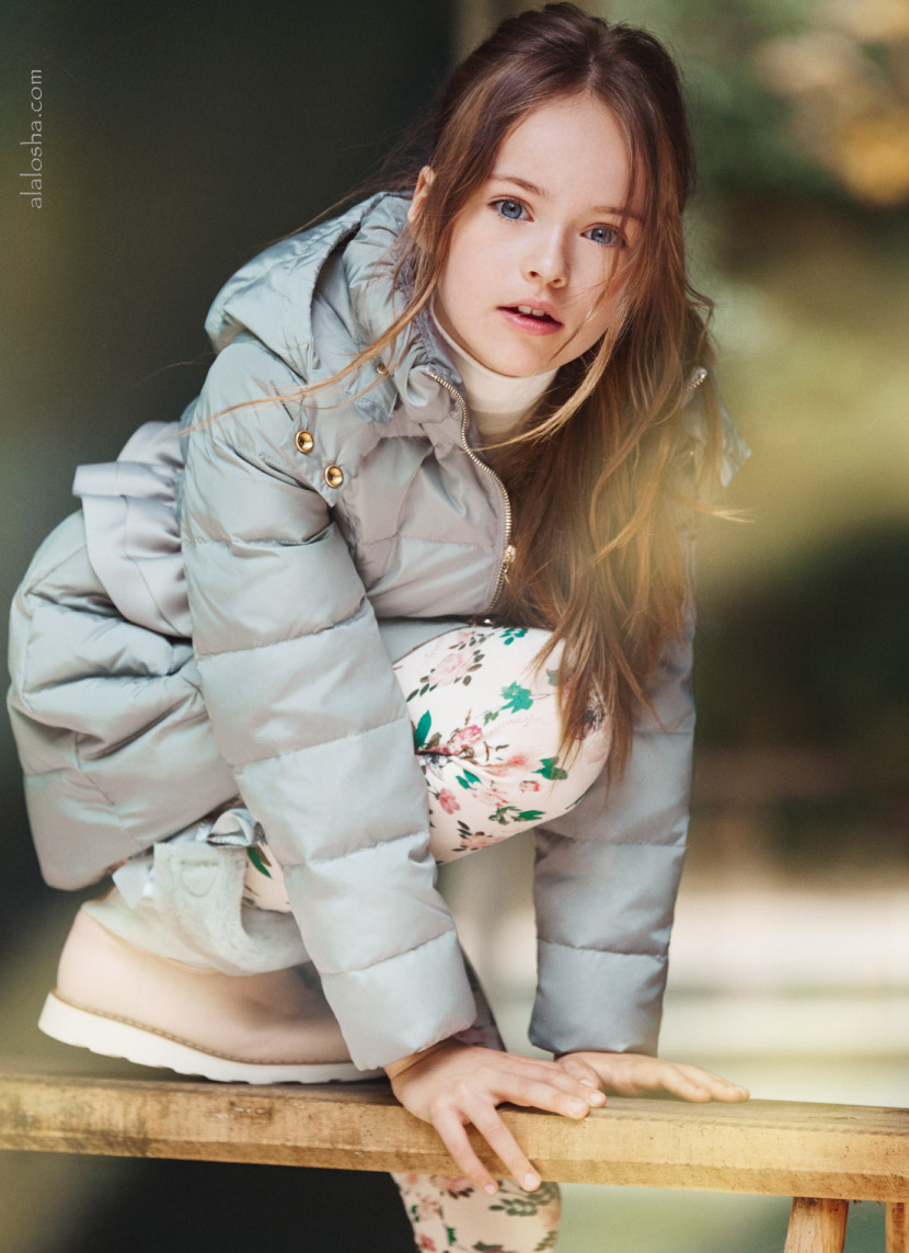 Autumn look: The Armani Junior campaign starring Kristina ...