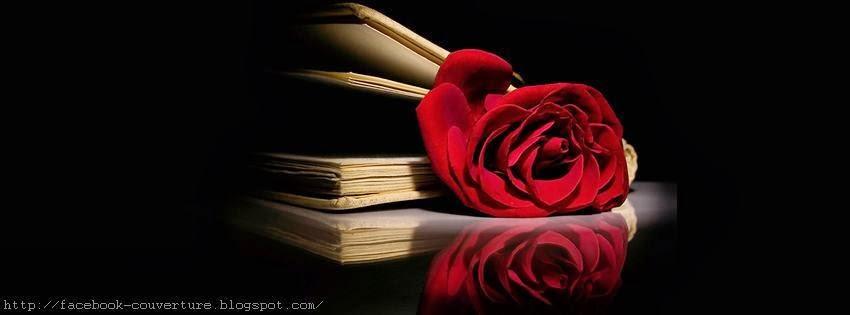 Couverture pour facebook romance