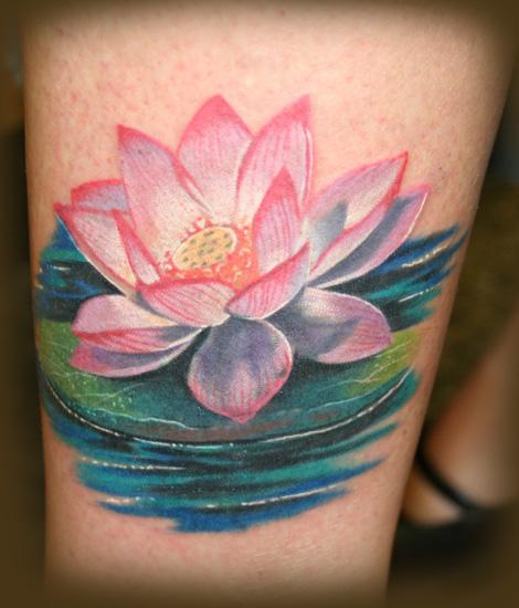 Flor de Lotus fotos e ideias para tattoo